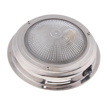 12V LED Recessed Down Light Cool/Warm White Ceiling Lamp Under Cabin Interior For RV Yacht Caravan Etc Waterproof Lens