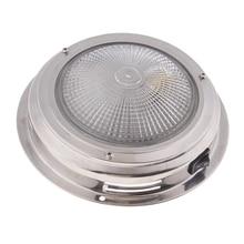 12V LED lampa wpuszczana fajne/ciepłe białe lampy sufitowe pod kabiną wewnętrzna lampka do jacht rv Caravan itp wodoodporny obiektyw