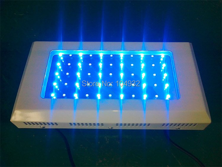 Just 90USD,165W(55*3W),LED Aquarium Light  freeship by Fedex   High PAR (Royal Blue Bridgelux Led,) reef tank /reef coral light