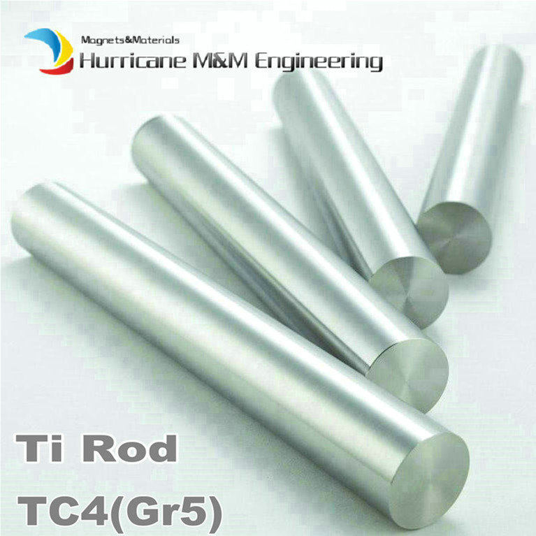 Titanium Rod 8/9/10/12 x500mm TC4 Ti Alloy Cylinder Experiment Research 1 Package Include 2pcs 500mm Length Ti Alloy Bar