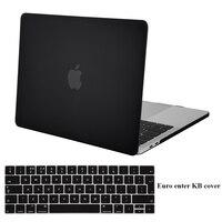 Mosiso Caso di shell Duro per Macbook Pro 13 w/out Tocco Bar Retina 2017 modello A1706 A1708 con Silicone copertura della tastiera