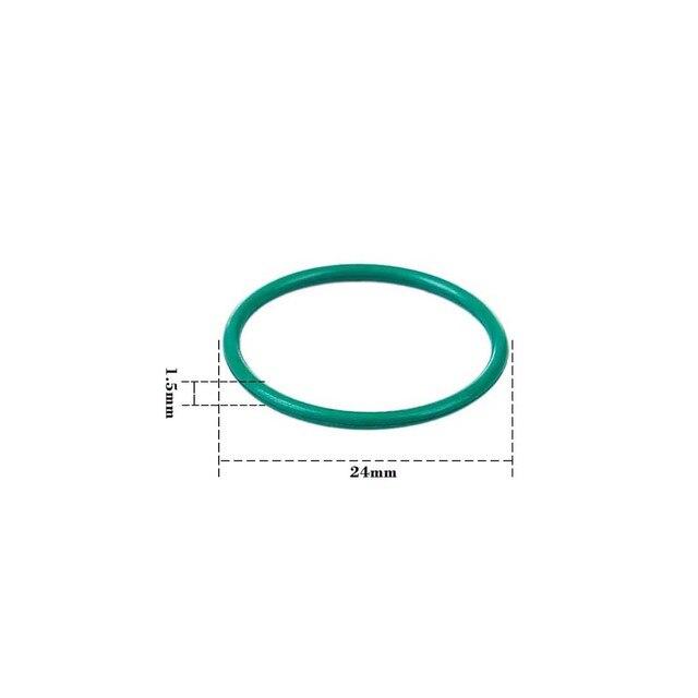 MODIKER cylinder pneumatyczny hermetyczny o-ring do JM 8 M4A1/JM 9 M4A1/JM 10-ACR cylinder pneumatyczny modyfikacja głowicy-zielony