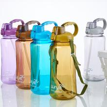 High Capacity 1500ML/2000ML/3000ML/ PVC Sports Water Bottle Outdoor Travel Portable Plastic