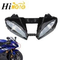 Corrida da motocicleta frente luz farol cabeça lâmpada conjunto kit habitação para yamaha yzfr6 yzf r6 YZF-R6 2006 2007 06 07