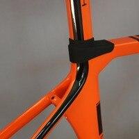 SERAPH malerei carbon fahrrad rahmen Nach malerei OEM produkte road carbon rahmen TT X1 rahmen  Aero rennrad carbon fahrrad rahmen-in Fahrradrahmen aus Sport und Unterhaltung bei