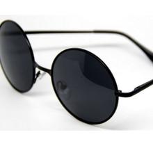 Oculos De Sol Feminino Unisex Vintage Retro Metal Round Frame Fashion Men Women Decoration Classic Eyewear Polarized Sunglasses