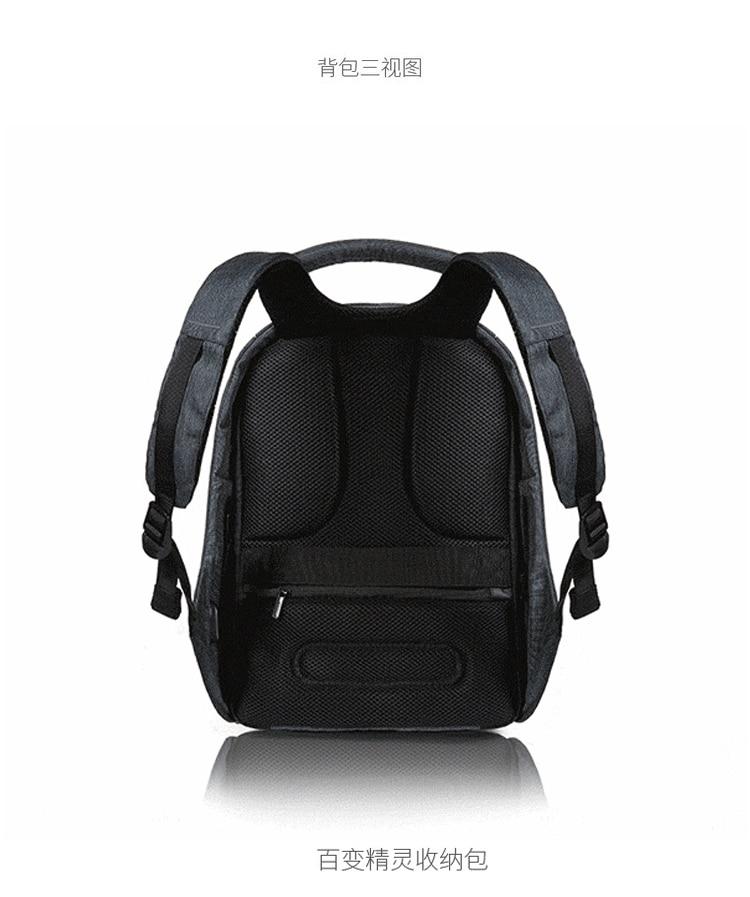 Multi Function XD DESIGN Bobby Backpack Anti theft Backpack Security  Backpack Travel Bag Women Secure Bagpack De Rugzak BK94-in Backpacks from  Luggage ... b96607521e55