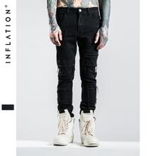 INFLATION 2016 New Arrival Jeans Famous Brand Men Skinny Jeans Men Denim Overalls Mens Jeans
