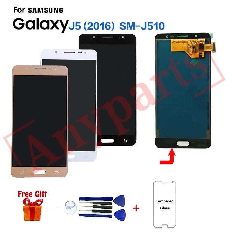 TFT For Samsung J5 2016 SM J510FN J510F display lcd Screen module for Samsung SM J510MN
