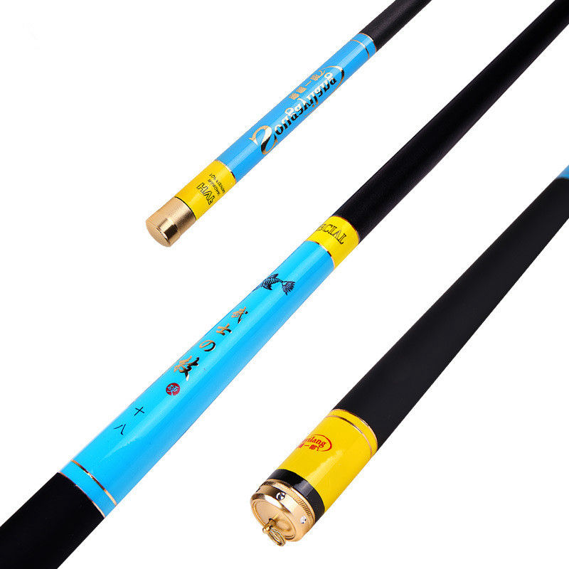 ФОТО 3.1M 3.9M4.5M 5.4M 6.3M Portable Telescopic Carbon Fishing Rod Spinning Hand Fishing Tackle steam Rod Fishing tackle K8356