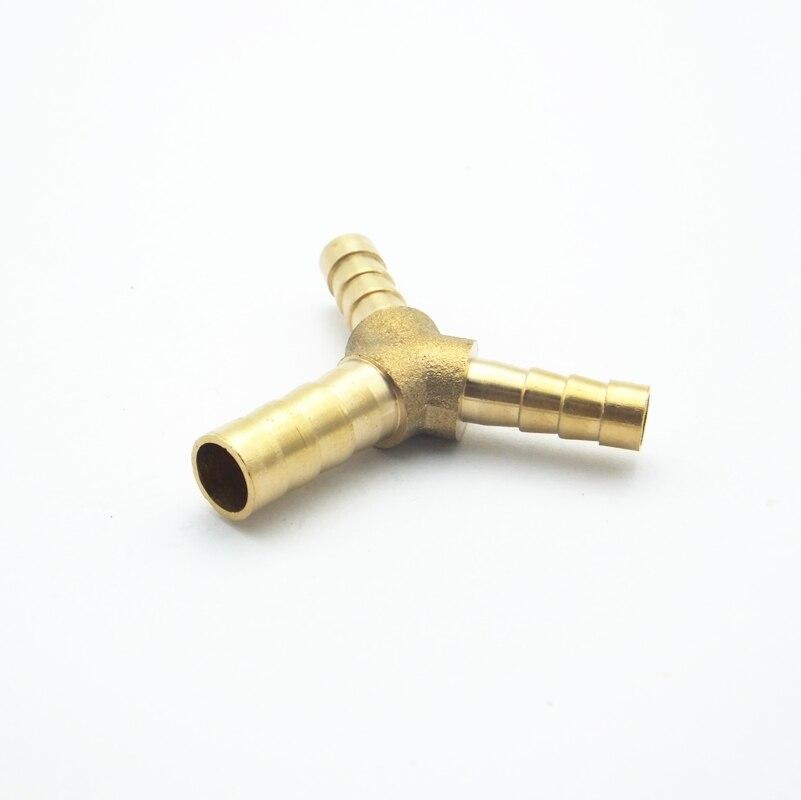 Urijk Alle Kupfer Stecker Y Rohr Y Form 3 Weg Schlauch Barb 6mm 8mm 10mm 12mm 14mm Gas Wasser Heizung Rohr Armaturen Hydraulische Teile Rohrverbindungsstücke