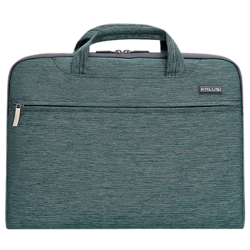 New waterproof arrival laptop bag case computer bag notebook cover bag 15 inch for Apple Lenovo Dell Computer bag(Denim Green)