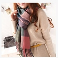 2016 winter new Fashion Brand Designer Winter Thick warm cotton Scarf For Women Shawl Pashmina Scarf