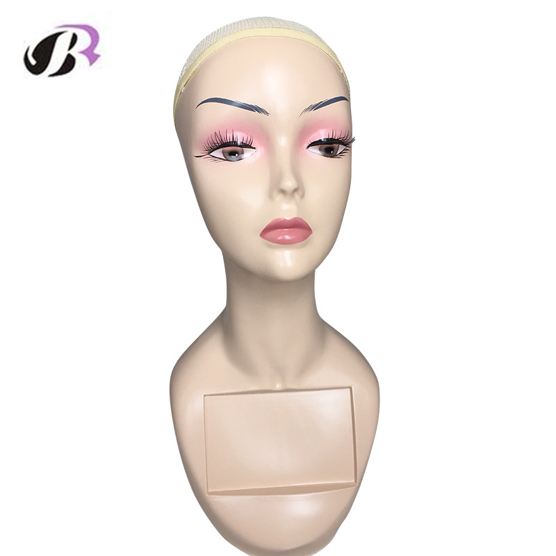 Free Shipping Female Europe and America Mannequin Manikin Head For Wig/Hair/Hat/Jewellery Display Cosmetology Maquiagem Head new 2pcs female right left vivid foot mannequin jewerly display model art sketch