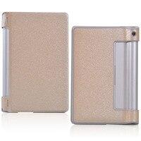 Luxury Silk Pattern PU Leather Flip Case For Lenovo YOGA 8 B6000 For Lenovo Yoga Tablet