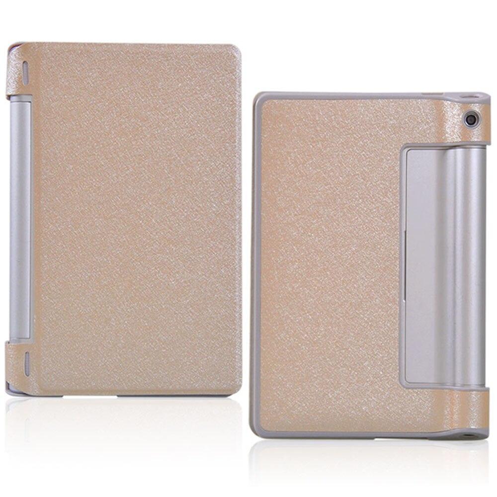 Luxury Silk Pattern PU Leather Flip Case for Lenovo YOGA 8 B6000 for Lenovo Yoga Tablet 8 B6000 8.0 60043 60044+Touch Pen protective pu leather case for 8 lenovo yoga tablet b6000 black