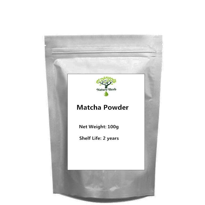 100% Natural Food Additives Water Soluble 100g~1000g Matcha Powder