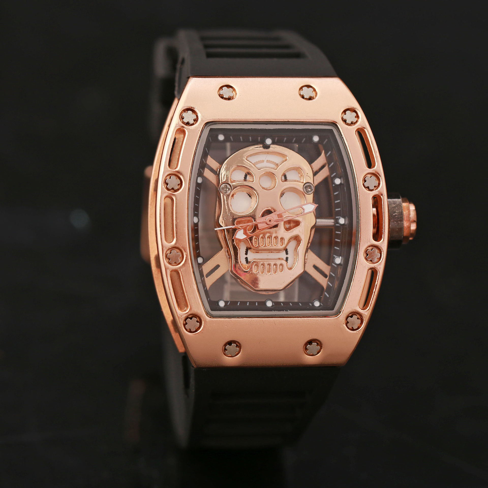 Fotina 2017 New Pirate Skull Watches Men Richard Style Quartz Military Rubber Wrist Watch Men Sports Rose Gold Relogio MasculinoFotina 2017 New Pirate Skull Watches Men Richard Style Quartz Military Rubber Wrist Watch Men Sports Rose Gold Relogio Masculino