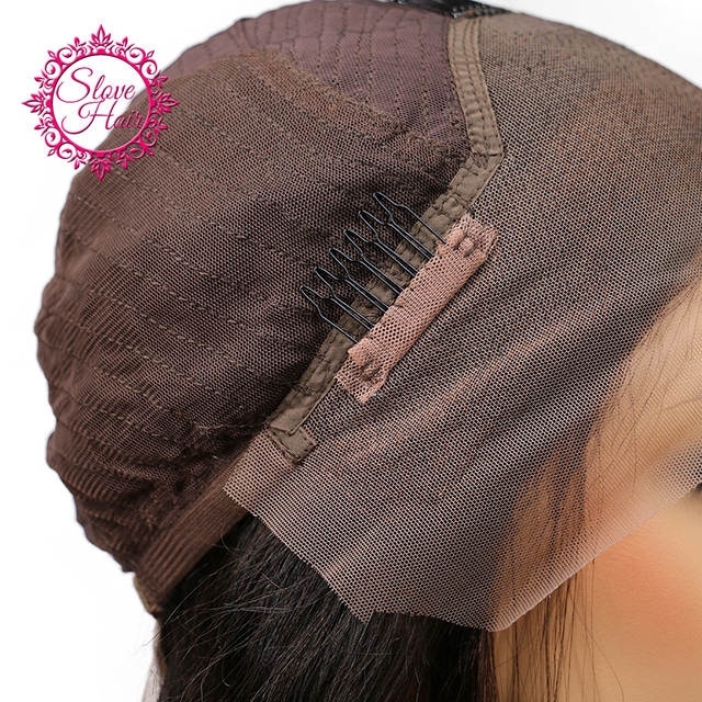 Slove Hair Human Hair Short Bob Wigs For Black Women Brazilian Remy Hair Lace Front Human Hair Wigs Bleached Knots