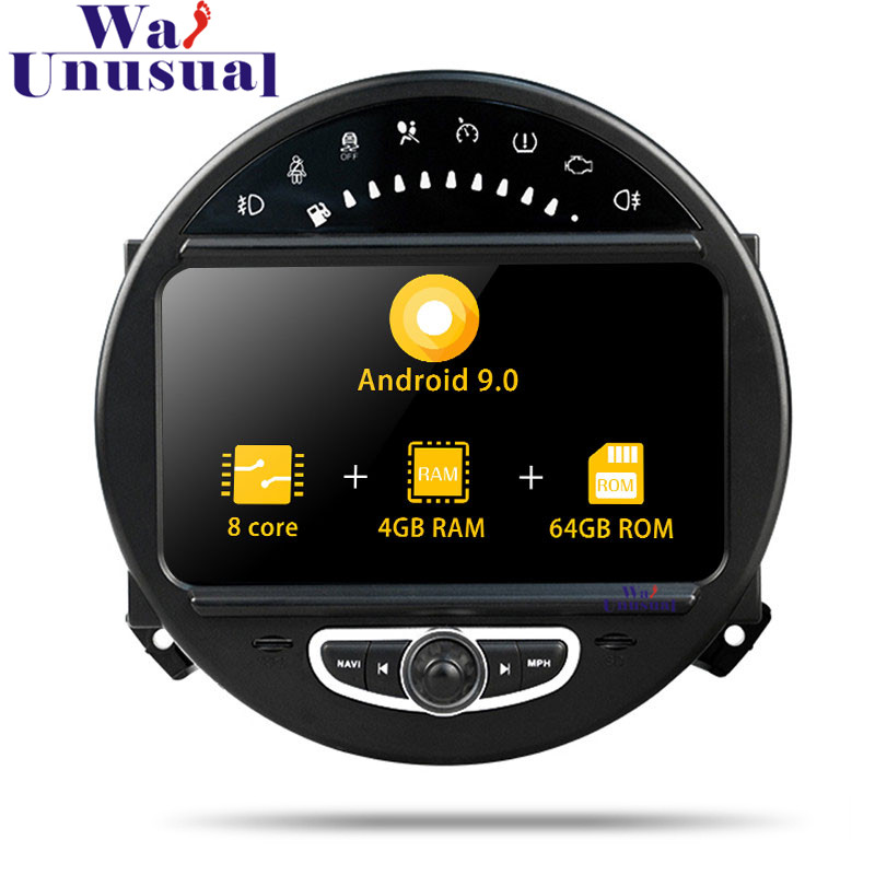 WANUSUAL 7 Octa Core 32G Android 9.0 Car Video Player Audio For BMW MINI 2006 2007 2008 2009 2010 2011 2012 2013 GPS Navigation
