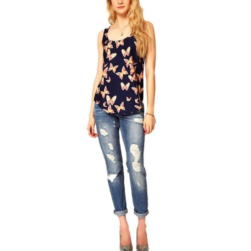 Summer Women Tanks Women Sleeveless Top T-Shirt Female Tank Tops Camisole Blusas Plus Size Femininas S-XXXL