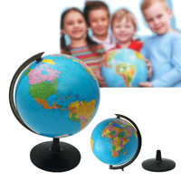 32cm World Globe Map Children Geograpy Educational Toys School Supplies Students Reward Gift Home Office Desktop Decorations