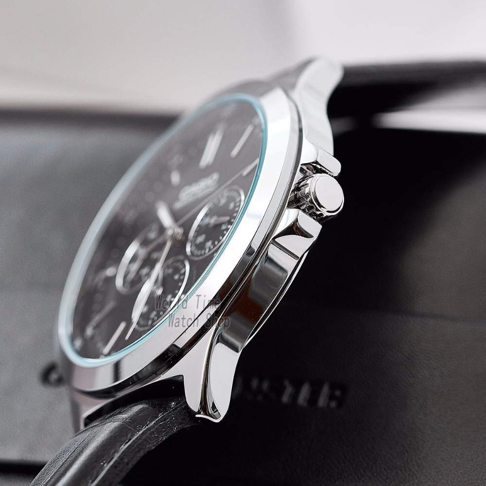 Casio watch Analogue Men 39 s quartz sports watch simple pointer watch MTP V300 in Quartz Watches from Watches