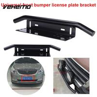 Black Aluminum Alloy Number Plate License Plate Holder Stylish Car Styling Mount Bracket New Racing Front Bumer Bracket