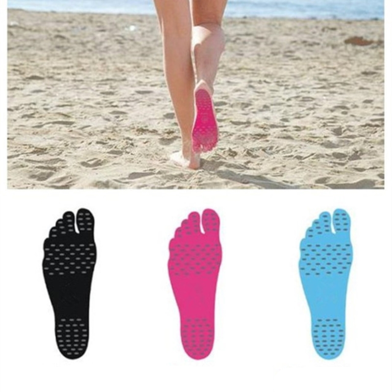 1 Pair Foot Stickers Shoes Stick On Soles Sticky Pads Waterproof Hypoallergenic Adhesive Non-slip Feet Pad Foot Care Tools