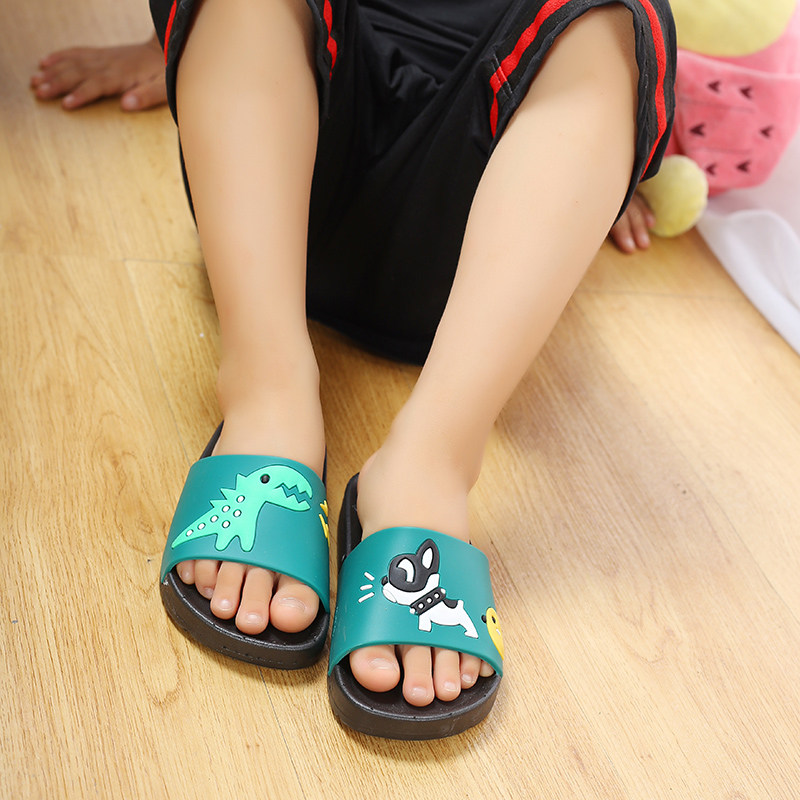f52dd7552 Little Kids Girls Sandals Fashion Teenager Boys Summer Beach Slippers  Children s Rubber Slip On Sliders Indoor Home Shoes 24~35-in Sandals from  Mother ...