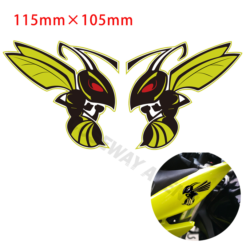 Woven IRON-ON PATCH Sew Embroidery Applique Fashion Badge HORNET// WASP