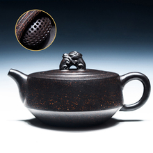 160cc Yixing Teapot Authentic Purple Clay Master Handmade China Health Care Kung Fu Tea Set Zisha Black Tea Puer Ruishou Pot New
