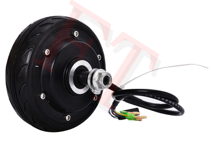 5 250W 24V electric wheel hub motor , electric scooter motor , electric bike motor , e scooter motor inflate free tyre 6 inch 24v 250w electric wheel motor dc hub motor e scooter motor electric e bike wheel motor