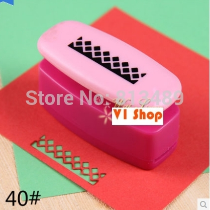 Free Ship Flower Perfurador De Papel Crafts And Scrapbooking Punch Embossing Diy Border Punch Edge Lace Punch Card Make R320