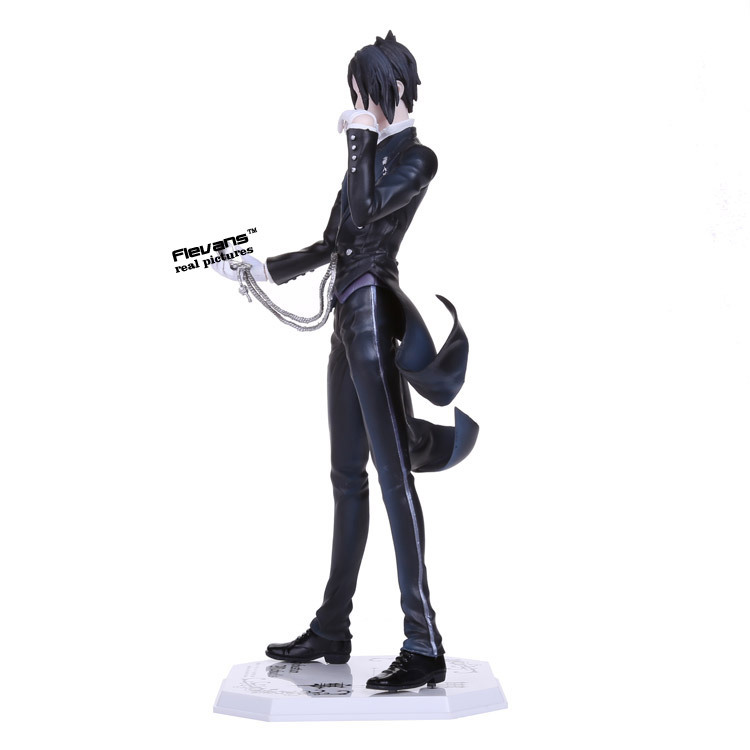 Image 4 - Anime Black Butler Sebastian Michaelis PVC Action Figure Collectible Model Toy 24cm-in Action & Toy Figures from Toys & Hobbies