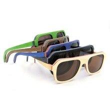 Noble Male Pilot Environmental Protecting Polarized New Man Sunglasses Solid Wooden Multi Color Sunglasses UV400 Eyewear New