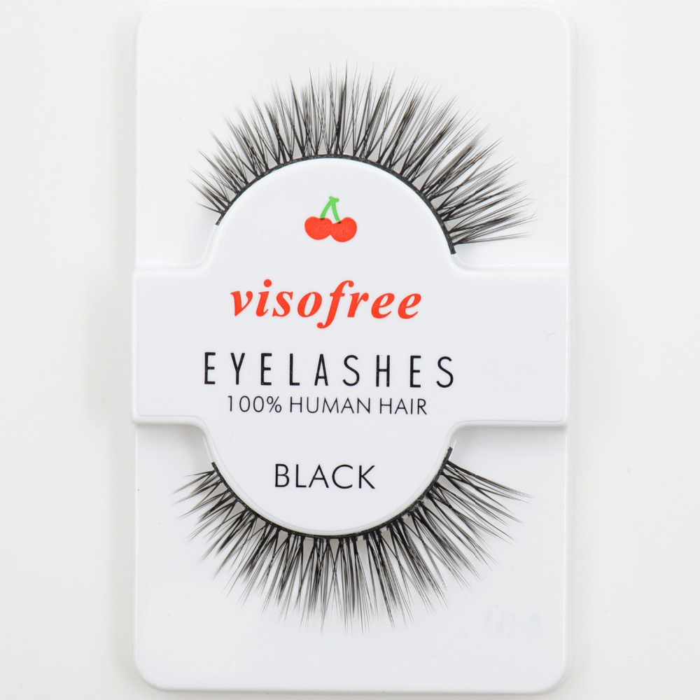 Visofree False Eyelashes Crisscross Eye Lashes Voluminous Make Up