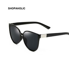 2017 fashion cat ojos gafas de sol retras mujeres refrescan las gafas de sol retro mujer de marca de lujo de la personalidad masculina gafas de sol oculos