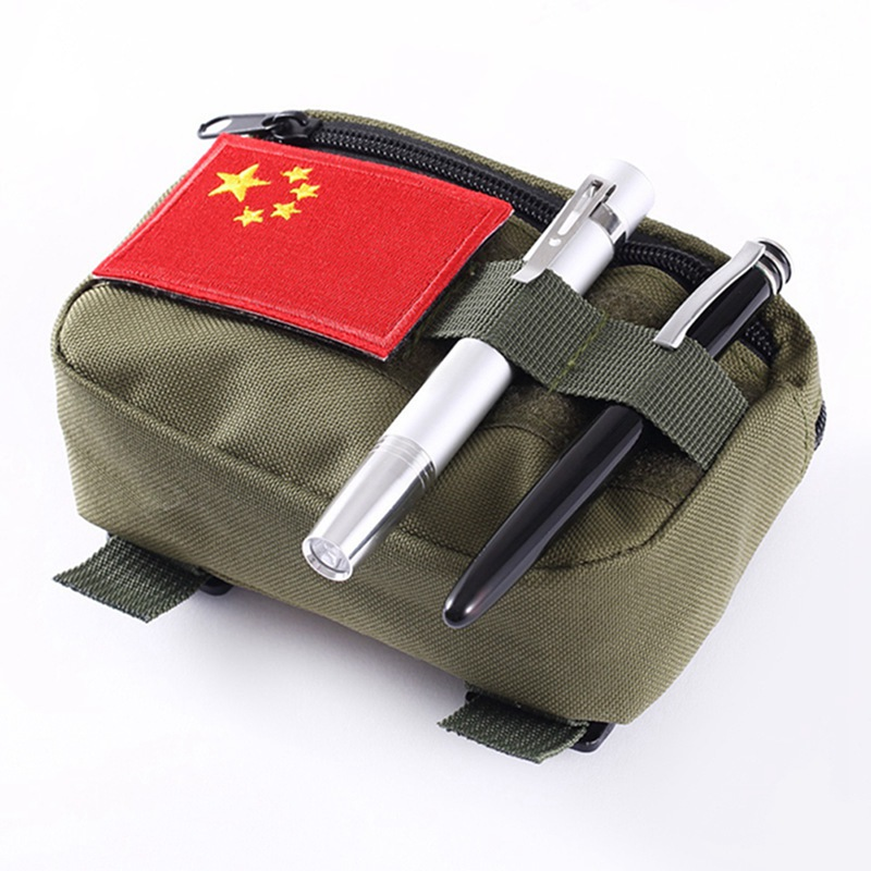 Tactical Pocket Organizer Waterproof EDC Pouch Military Belt Pouch Portable Hunting Pack Tool Bag Small Army Utility Field(China)