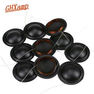 Image 1 - Promotion 12pcs 25.4mm Tweeter Voice Coil Silk Diaphragm Drive 25.5core KSV Treble Speaker Repair DIY 6ohm 8ohm 100pcs