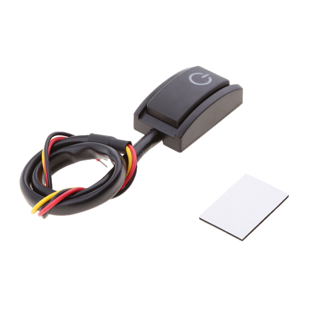 Image 5 - 1 Pcs Car Start Stop On Off Mini Switch Breaker Prewired Auto Refit Part For LED Light Bar/Chassis Lamp/Driving Light Etc 200mA-in Car Switches & Relays from Automobiles & Motorcycles