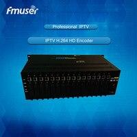 16 в 1 H.264/H.265 Высокое разрешение HD потоковый кодировщик IPTV HDMI видео кодек потокового Поддержка M3U8 HLS