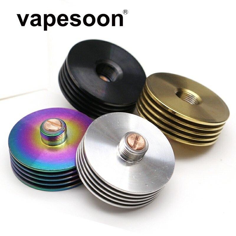 VapeSoon 22mm 24mm 25mm 27mm 510 Heat Sink For 510 Thread Adaptor RDA RDTA Atomizers Electronic Cigarette Box Mod