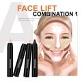 New Brand Set Repair 6pcs Face Makeup Base Concealer Stick Pen Blemish Mineral Contouring Makeup Highlighter Concealer Cream4178