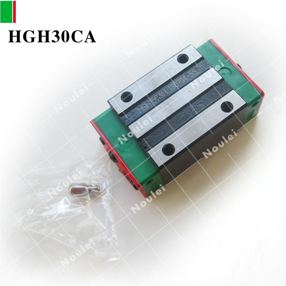 HIWIN Taiwan Linear Rail Slider HGH30CA free shipping to argentina 2 pcs hgr25 3000mm and hgw25c 4pcs hiwin from taiwan linear guide rail