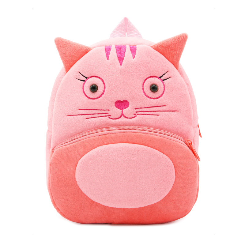 Toddler Schoolbag Backpack Plush Kindergarten Animal Baby-Boy-Girl Kids Children Cartoon