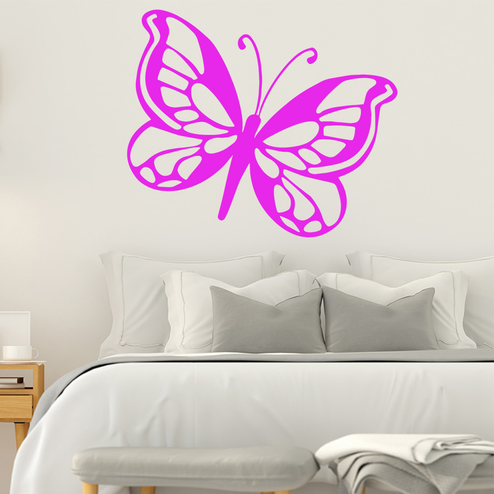 Sweet Dreams Butterfly Quote Wall Sticker Vinyl Decal Room DIY Decor Lovely