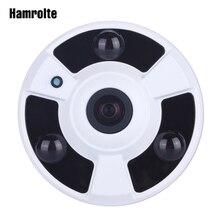 "Hamrolte CCTV מצלמה 1080 p Sony IMX323 סניור Ultralow תאורה 1.7 מ""מ Fisheye 180 תואר רחב זווית פנורמי AHD מצלמה"