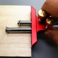 Woodworking Scribe Tool European Double Head Scribe Blade Wooden Scribe Line Woodworking Crossed out Tools