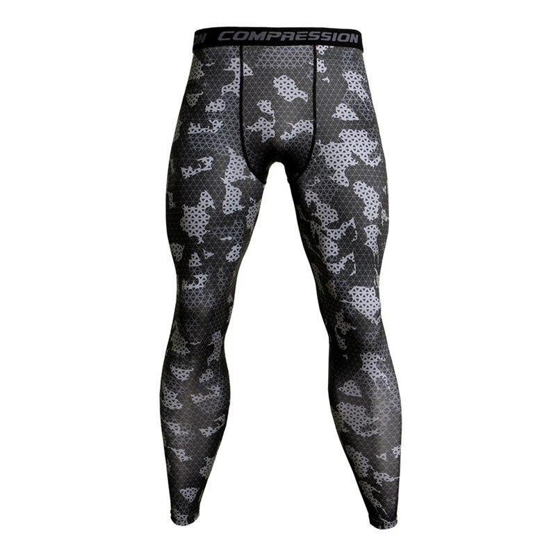 c6a6a8eae Cheap Pantalones de compresión de camuflaje para correr mallas de  entrenamiento de fútbol para hombres Leggings
